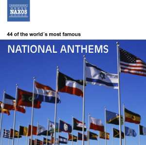 national anthems cd cover